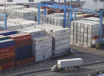 Disminuye el superávit comercial de Colombia con EE.UU.
