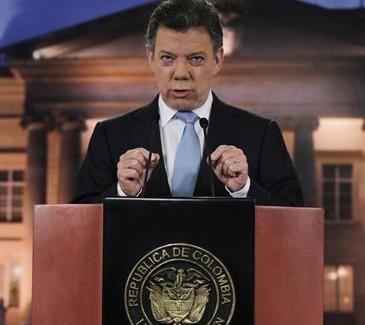 Presidente Juan Manuel Santos firma el Acuerdo Marco de la Alianza del Pacífico