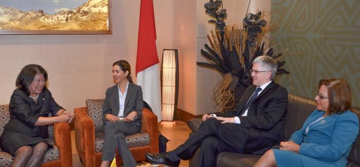 Colombia e Indonesia definen agenda para el 2013