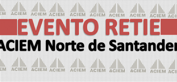 Invitación Evento RETIE Cúcuta