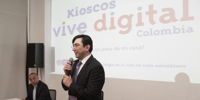 El campo nortesantandereano se conecta con la llegada de 78 kioscos Vive Digital