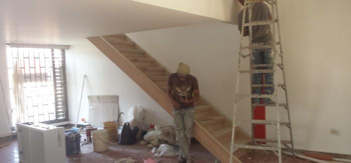 Así va el avance en la remodelacion de las oficinas ACIEM NDS